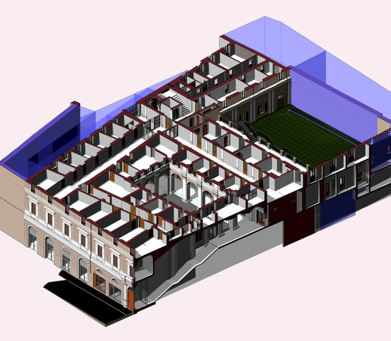3D Laser Scanner survey – Scan to BIM of the Prefecture of Chieti