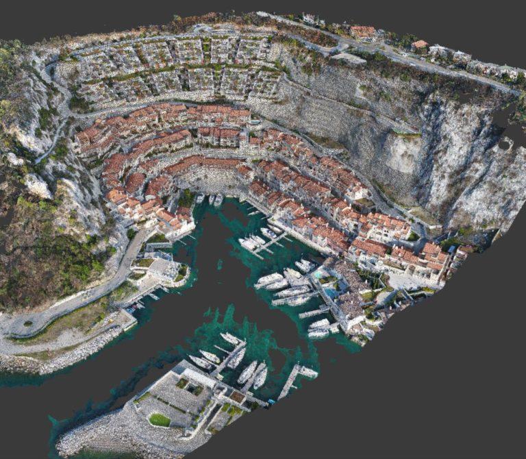 Rilievo Fotogrammetrico con drone di Portopiccolo Trieste