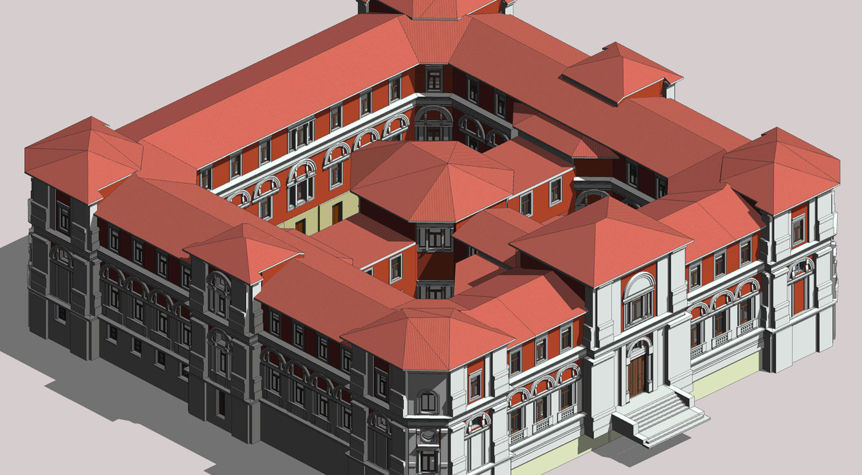 Rilievo laser scanner 3D – Scan to BIM del Tribunale di Avezzano
