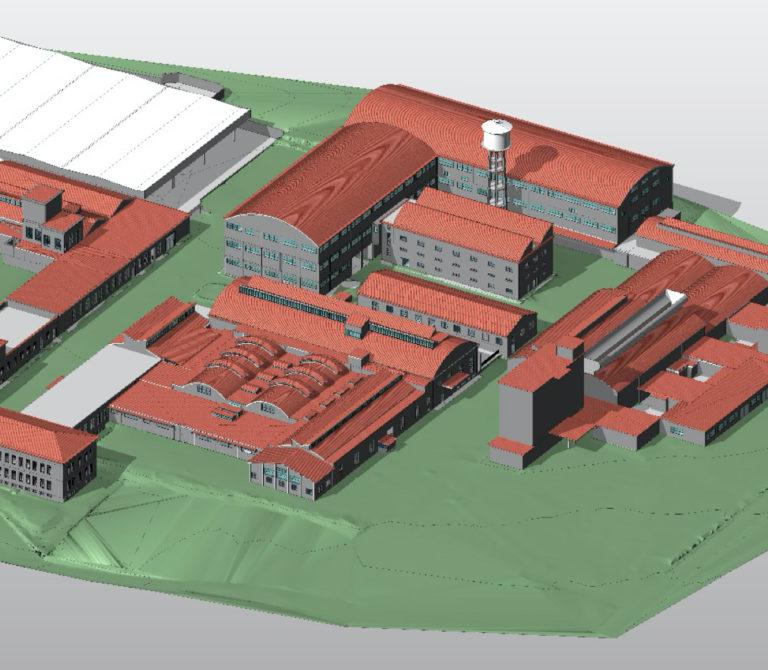 Rilievo laser scanner area Ex Seves – Firenze