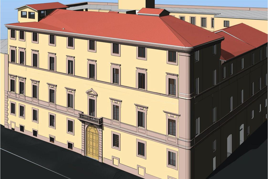 Rilievo laser scanner Palazzo Sforza Cesarini – Roma