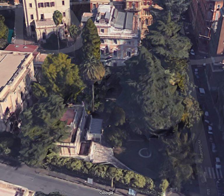 Rilievi architettonici Roma – Villini