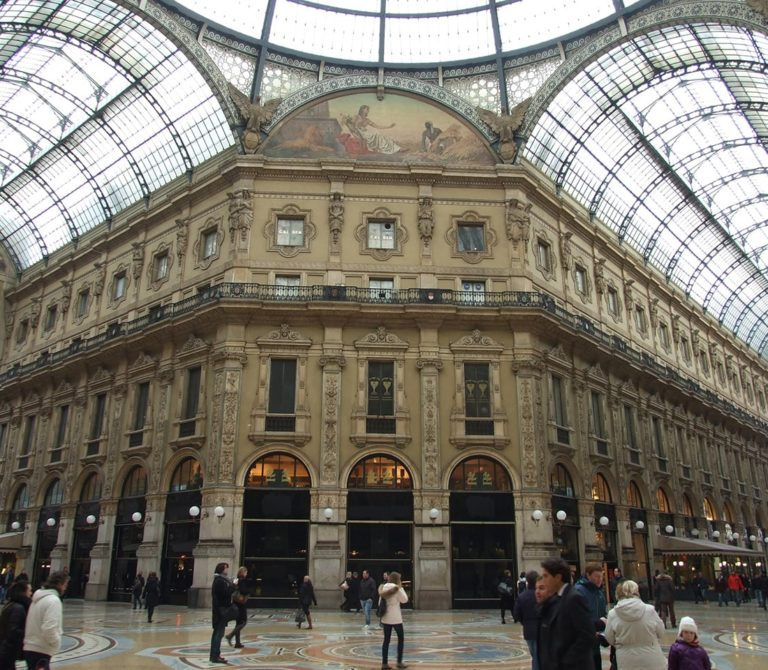 Milano Galleria Vittorio Emanuale II
