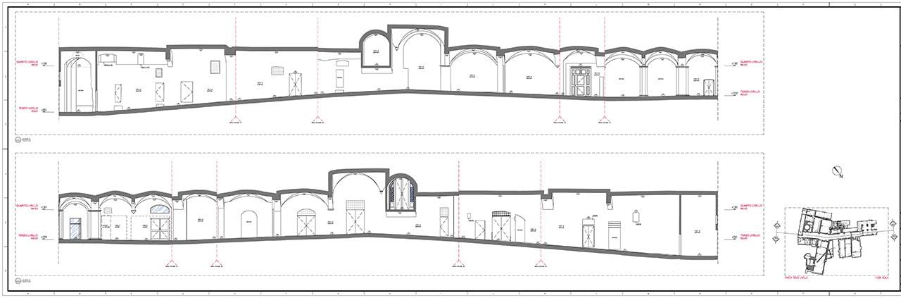 rilievi-architettonici_Siena_Santa-Maria_della_Scala_GaiaGroup-12