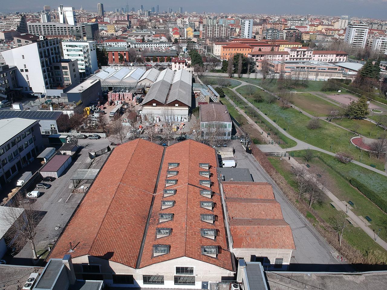 Photogrammetric Survey Using Drone Milan