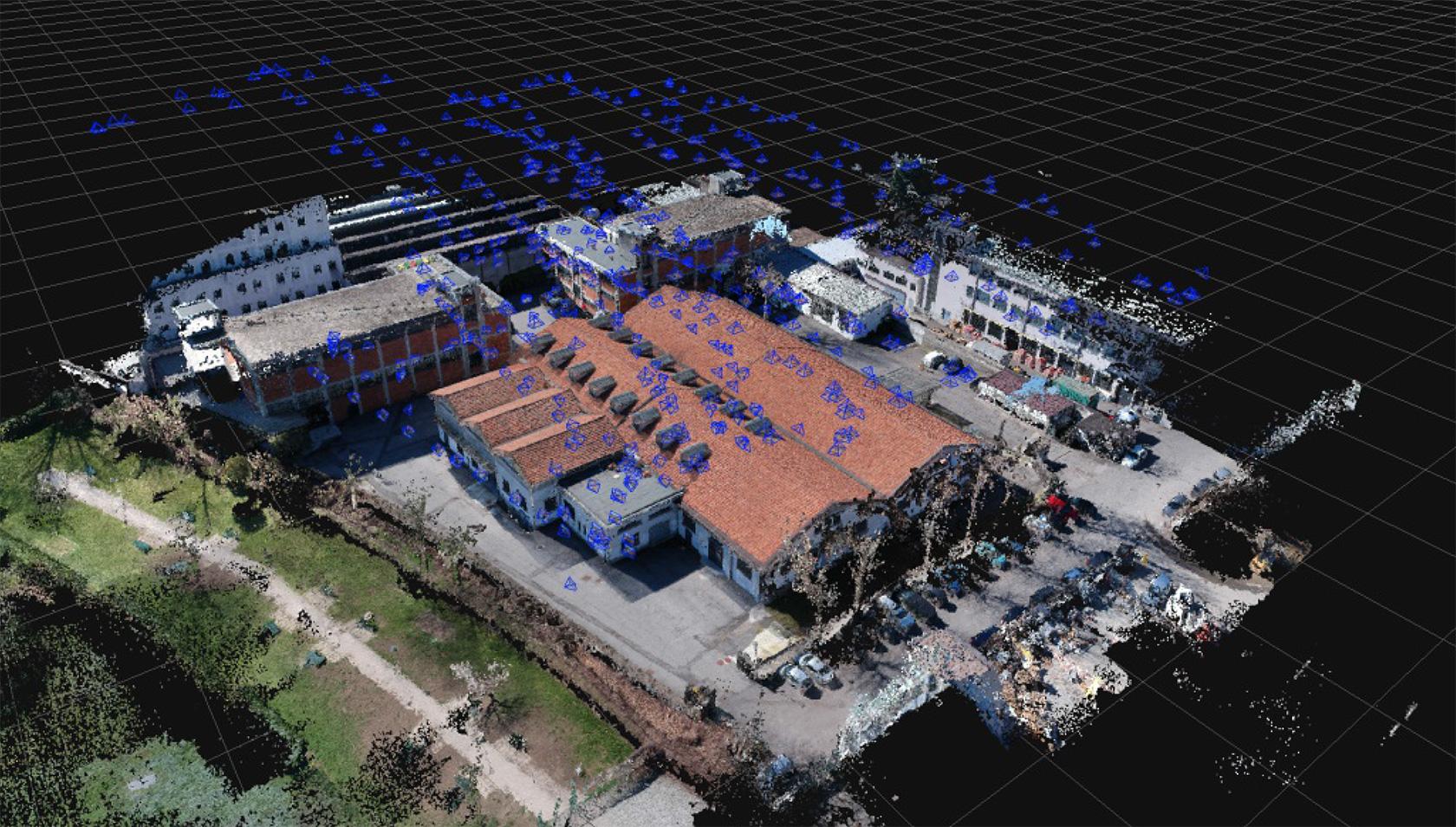 Photogrammetric Survey Using Drone