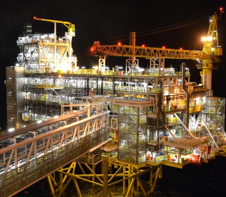 Rilievi impiantistici, Oil & Gas, offshore e onshore
