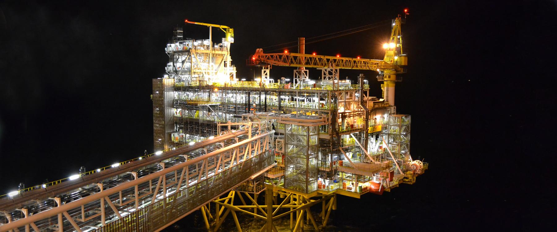 Rilievi impiantistici Oil & Gas, offshore e onshore Gaiagroup