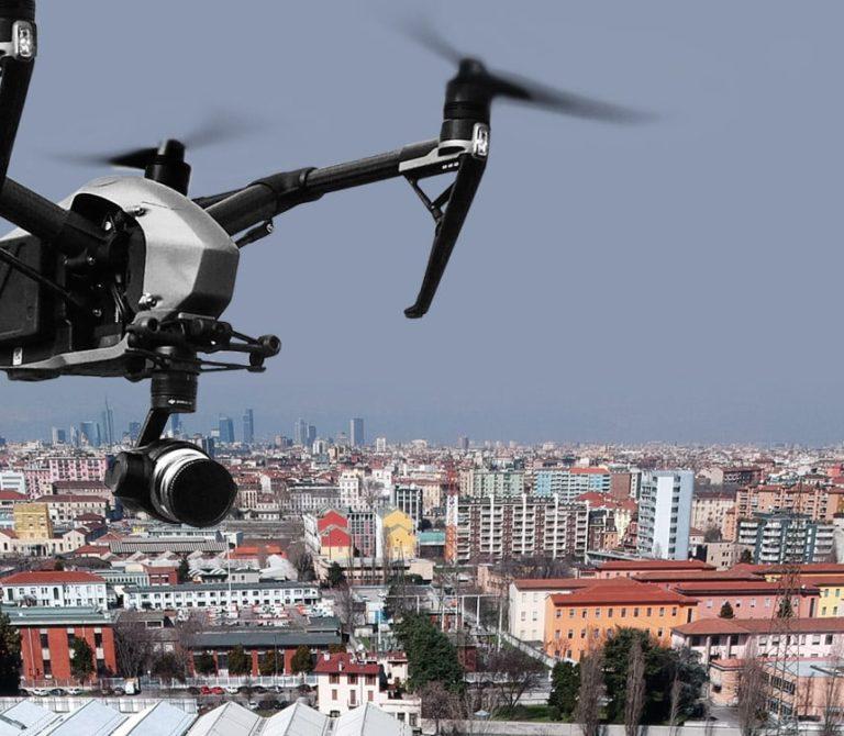 Rilievi topografici e fotogrammetrici con drone