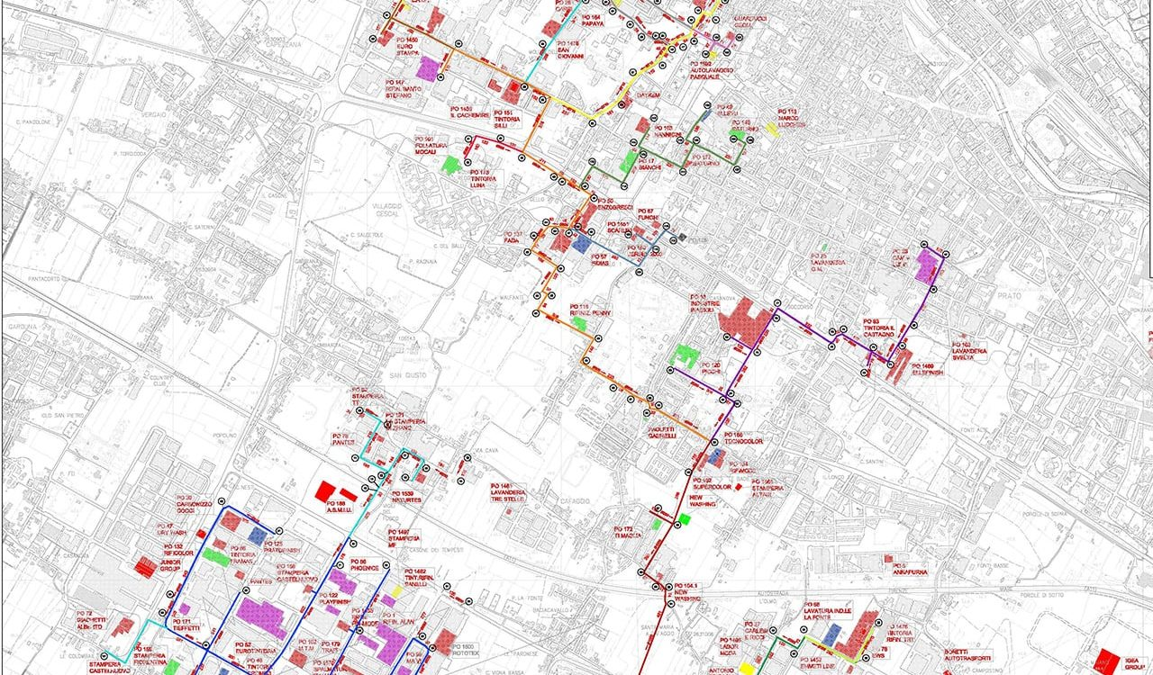 Rilievo urbano Prato e Montemurlo