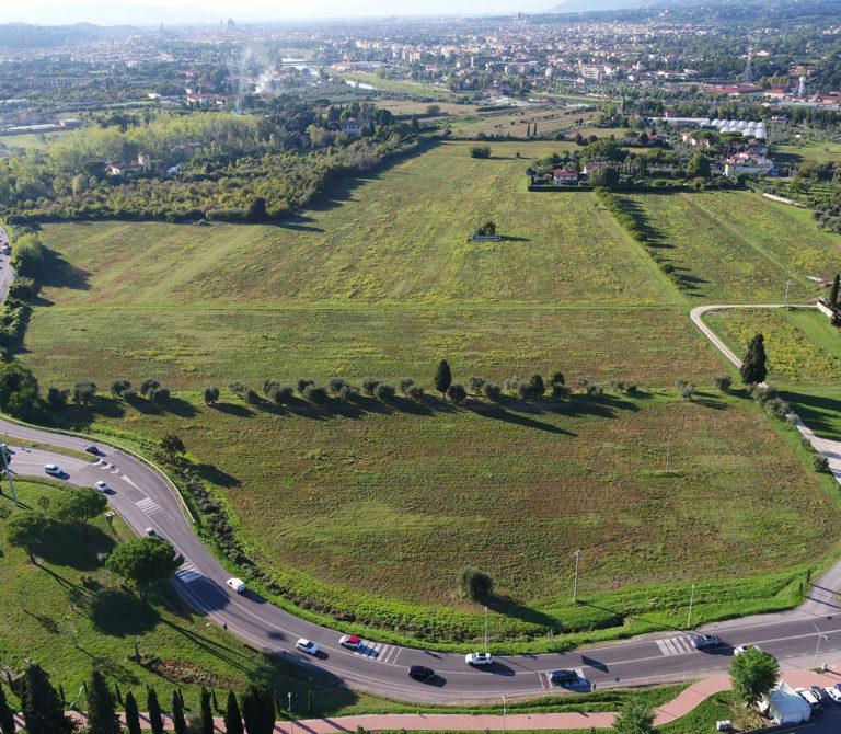 Aerophotogrammetry Acf Fiorentina sports Center