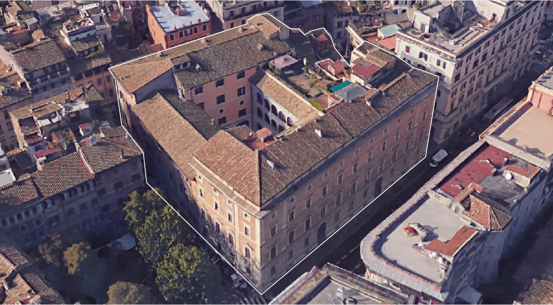 Laser scanner survey Palazzo Sforza Cesarini – Roma