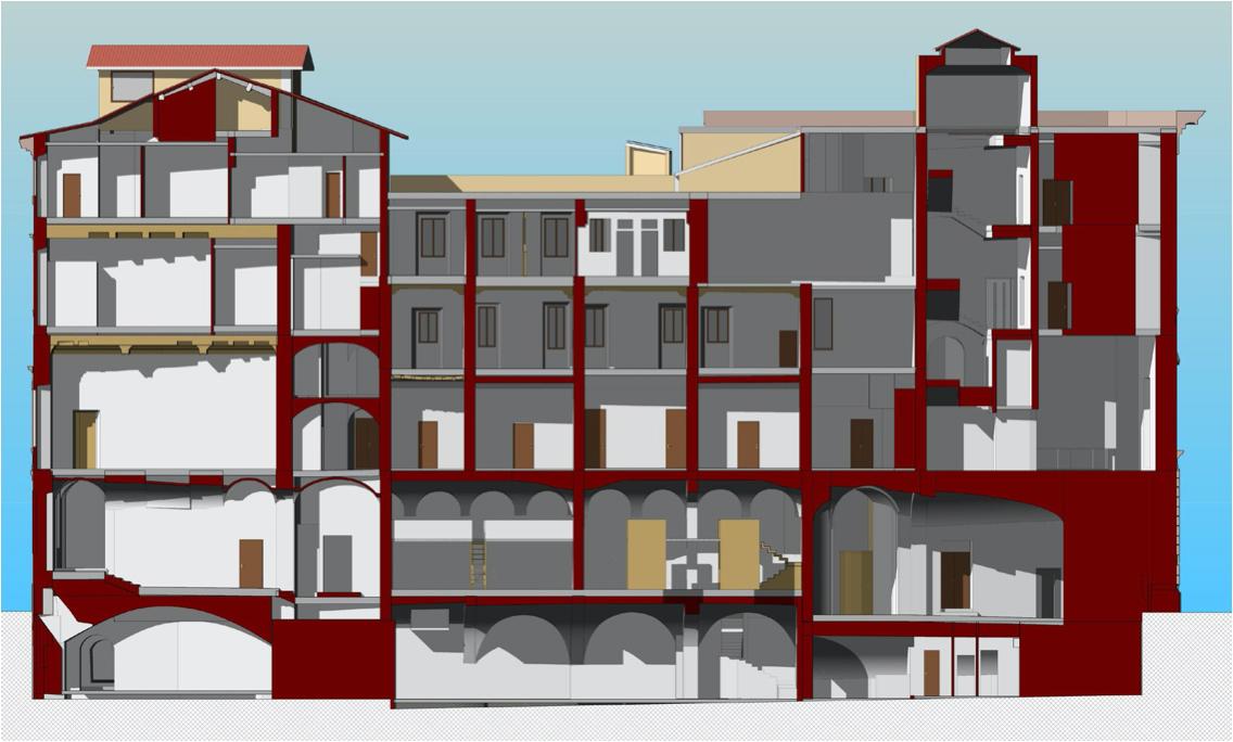 sezione-prospettica-da-modello-bim-palazzo-roma